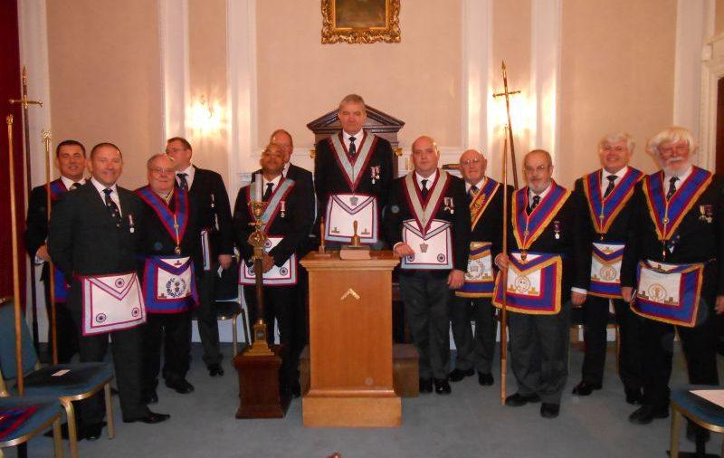 Egerton of Tatton Lodge welcome DPGM V.W. Bro. Bill Divall