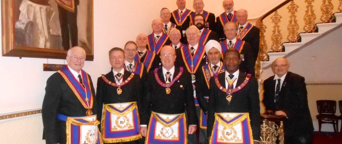 APGM W. Bro. Tom Quinn visits Piscator Lodge 22nd January 2016