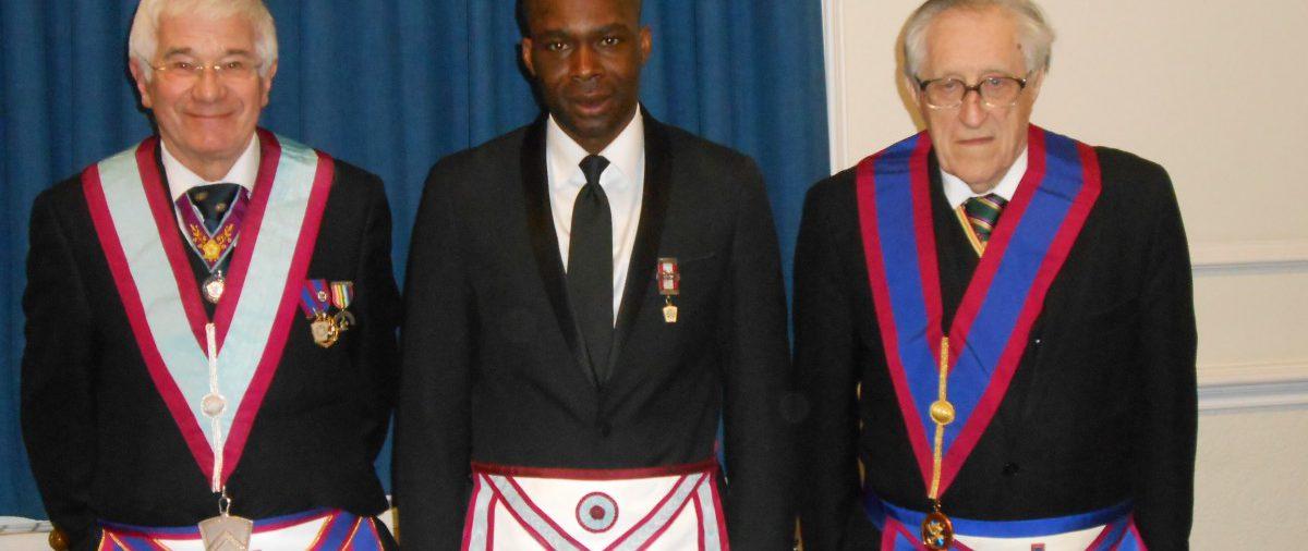 London West Africa Welcome W. Bro. Cliff Sturt Prov.GSW