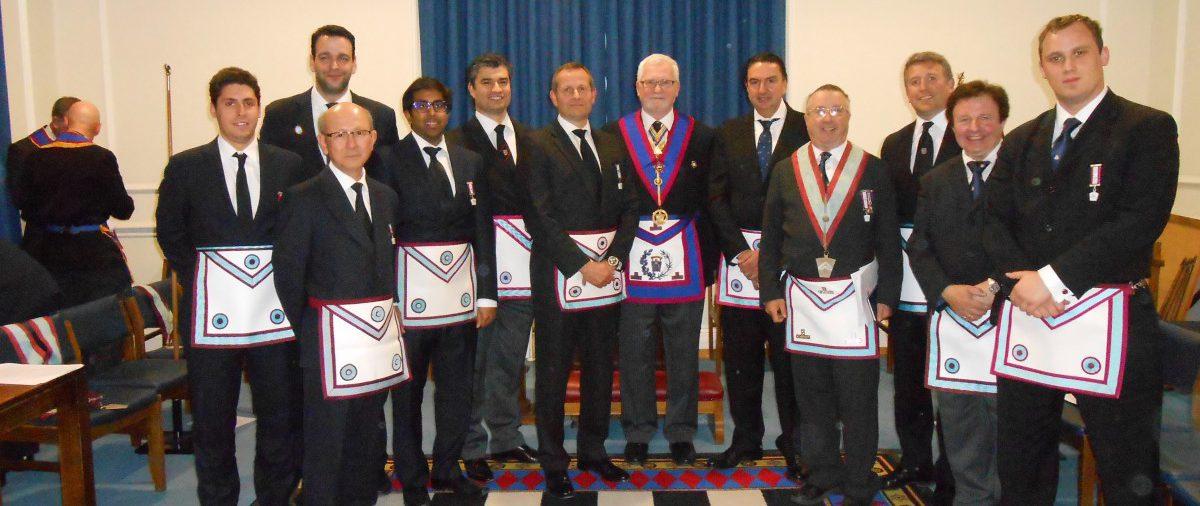 ISMA Lodge Advance eight candidates in a night of fun