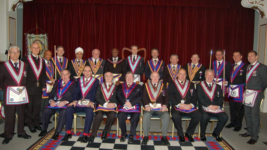 VW Bro Jerry Gangadeen visits Golden Square Lodge on 18th February 2015.