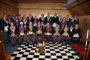 Henniker Lodge No 315 Delegation visit 7th February 2014