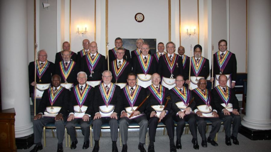London Installed Mark Masters and Commanders Lodges 24th February 2014