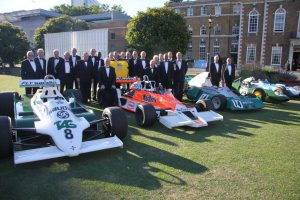 Formula One doughnuts at the Dep Directors of Ceremonies Club on 3rd July at the Honourable Artillery Company