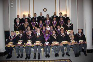 Carnarvon Lodge No 616 Full Team Visit 14th June 2014