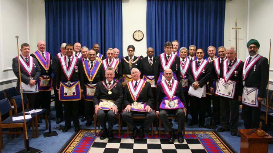 Mahajan Lodge with APGM Henry Hobson 11th November 2014