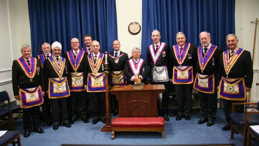 APGM Paul Muston visits Ubique Lodge N0 411 - 19th February