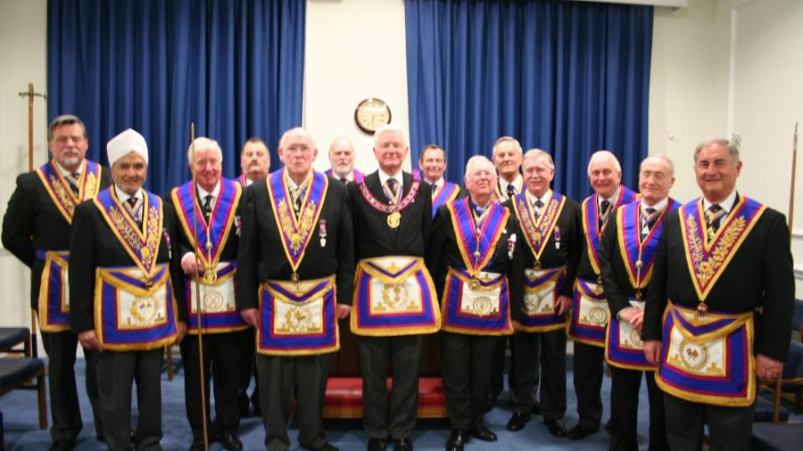 VW Bro Keith Florence, APGM, visits Ethical Lodge No 458 - 2nd March