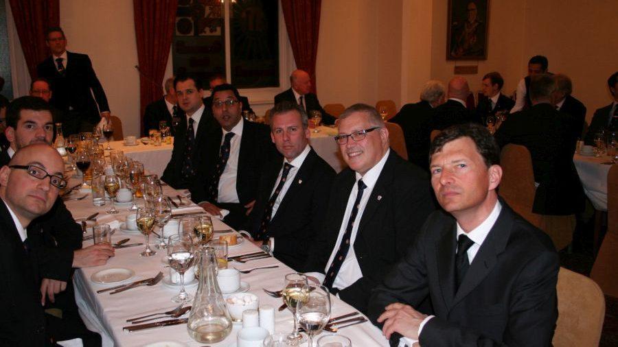 APGM W Bro Henry Hobson visits Hibernia Lodge No 431 - 16th March