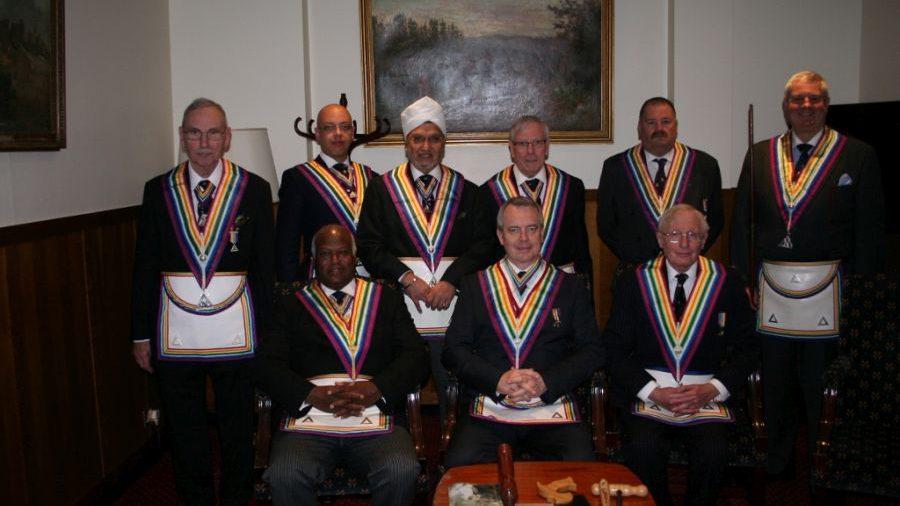 W Bro Jerry Gangadeen APGM visits Dramatic Royal Ark Mariner Lodge No 487 - 8th April