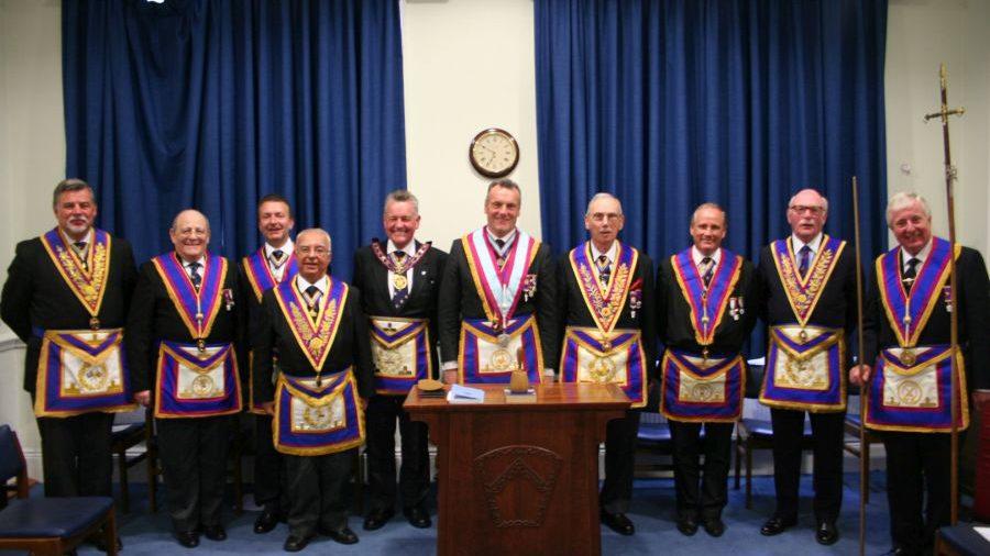 APGM W Bro Henry Hobson visits Prince of Wales Lodge No 4 - 18th May 2105