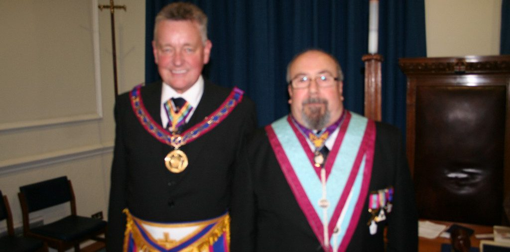 APGM Henry Hobson visits King Solomon Lodge No 385 - 26th January 2016