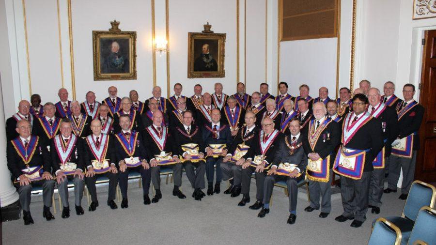 The London Mark Provincial Grand Stewards' Lodge No 1870 - 29 November 2013