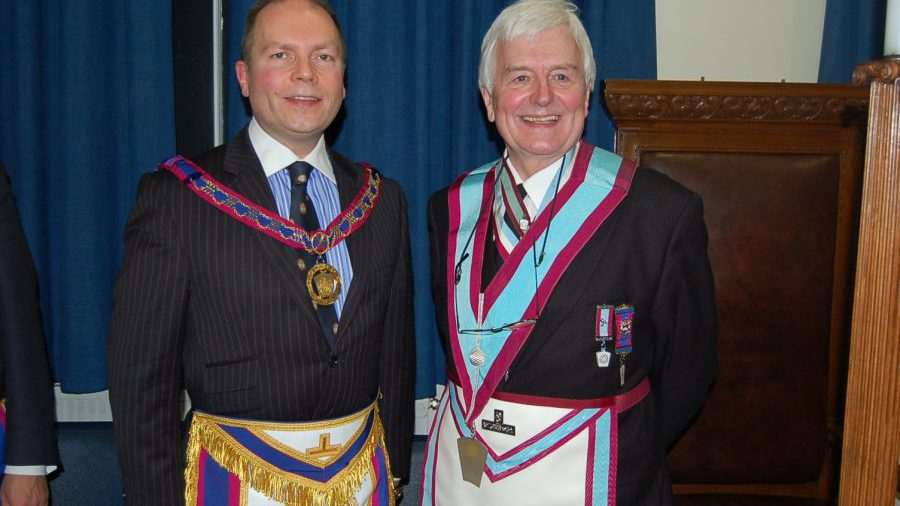 APGM Paul Muston visits MacDonald Lodge No 104 on 29th January 2015