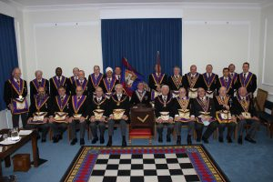 New Era Lodge No 176 and Gibraltar No 1336 meeting and combined Festive Board 1 February 2014