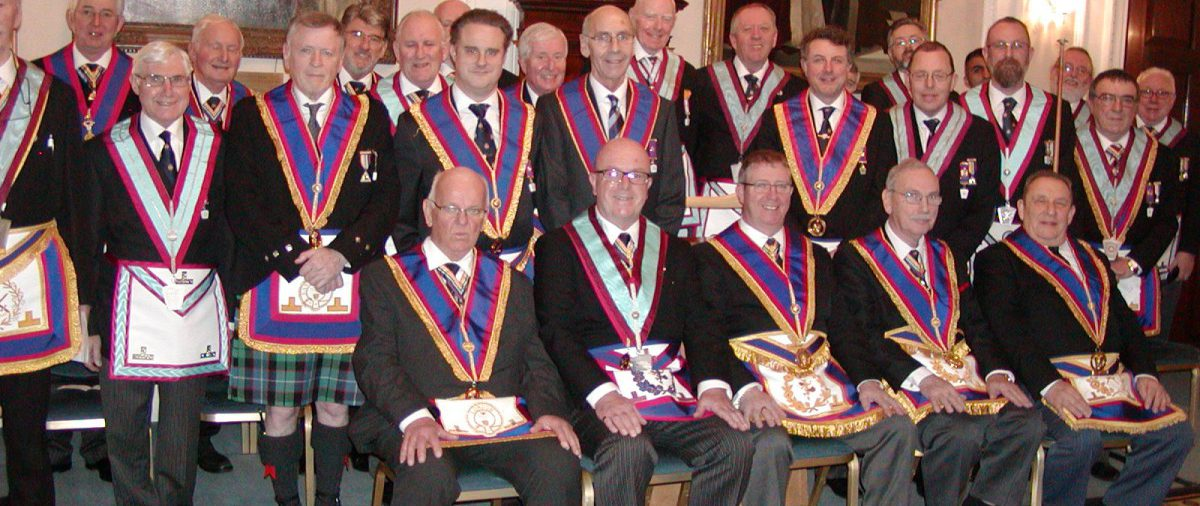 Provincial Grand Junior Warden, David Lucas and Delegation visit Friendship From Service Lodge on 12th January 2017