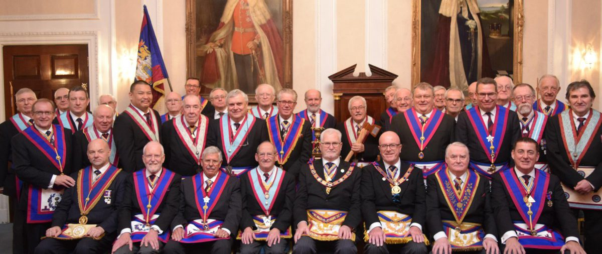 Full Team Visit to Mallet & Chisel by PGM David Ashbolt, DPGM Tom Quinn and a small but beautifully marked Delegation on 11th January 2017