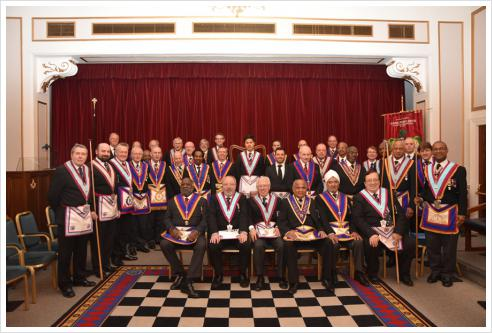 The PJGW visits Carnarvon Lodge No 616 and witnesses a Silver Pin performance!