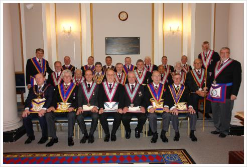 St Mark's Lodge of Mark Masters No.1 21st February 2017