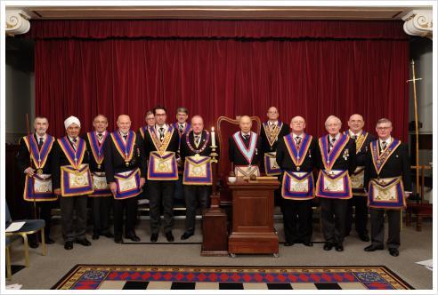 Delegation to Johann Gutenberg Lodge No.976 7th March 2017