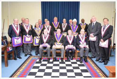 ProvGJW David Lucas and Delegation visit to Pro Minimus Lodge on 1st March 2017