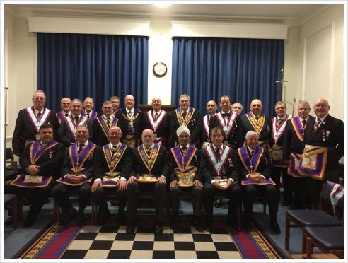 Scots Mark Lodge on 20th February