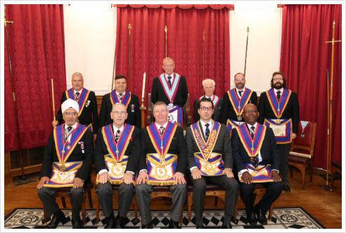 W.Bro David Lucas PGJW pays a visit to Epworth Lodge No 1771