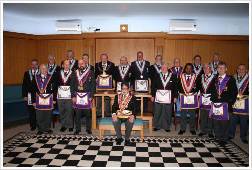 APGM W Bro Tim MacAndrews PAGSwdB visits Henniker Lodge