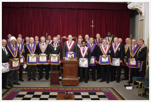 20th June 2017 APGM Henry Hobson visits Polytechnic Lodge