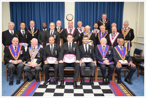 King Solomon Lodge have a very unusual and welcome meeting