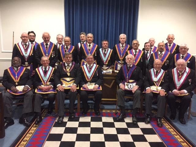 APGM Cliff Sturt and Delegation of Provincial Officers visit Orchestral Lodge
