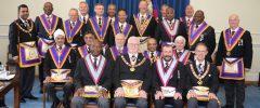 PGM David Ashbolt visits London West Africa with a large Delegation