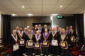 APGM Henry Hobson visits Minchenden Oak on 6th September 2016