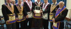 APGM Henry Hobson Stands in for VW Bro Jerry Gangadeen at Foundation RAM, 25th September 2017