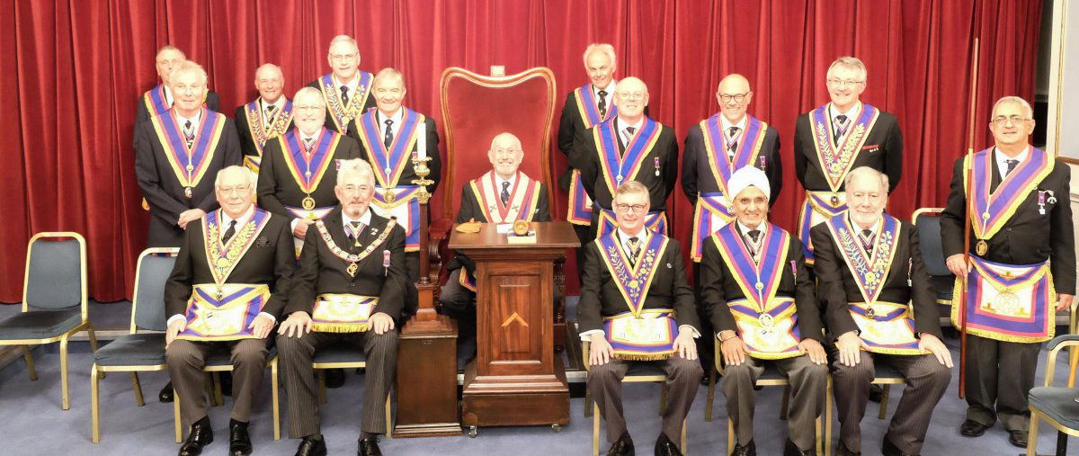 ProvGSec Alan White visits Thistle Lodge on 10th October 2017