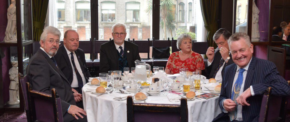 Provincial Grand Officers' Mess hosts a most interesting speaker - MW Bro Zuzanka Penn, Grand Master of the Order of Women Freemasons