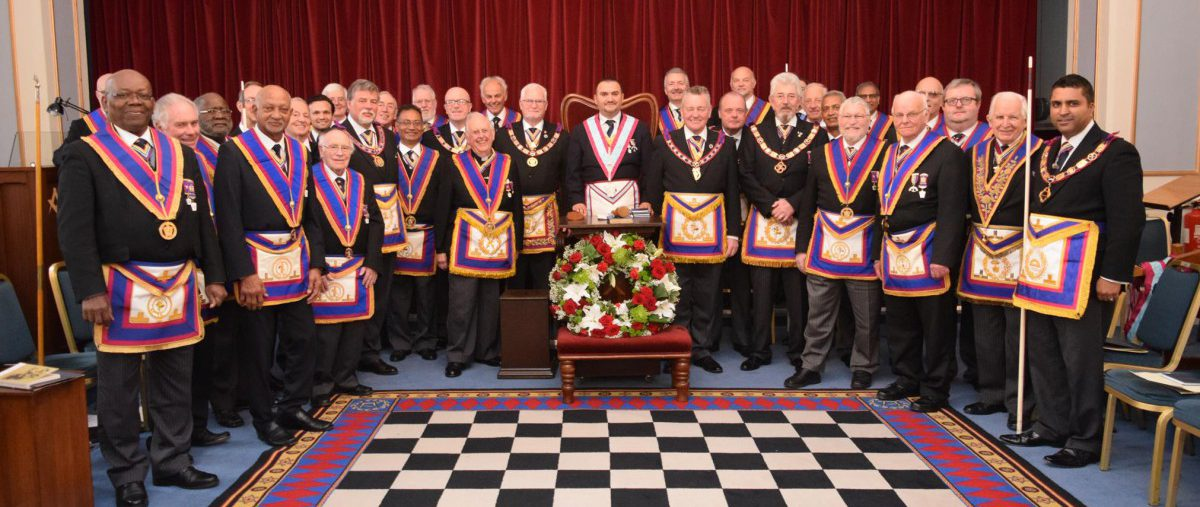 PGM David Ashbolt and his Team consecrate Gallipoli Lodge No 1984 on Friday 17th November 2017