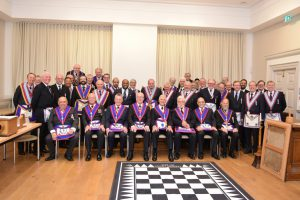 A night to remember – for all the right reasons – at Onslow Lodge of MMM on 16th November 2017