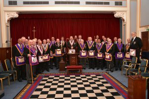APGM W. Bro. Tim MacAndrews together with a Delegation of Provincial Grand Officers visit Kelvin Lodge No 742 on the 7th November 2017.