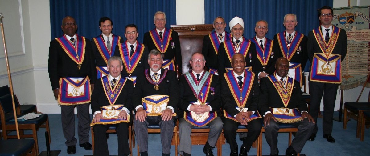 APGM W Bro Clifford Sturt, PGJD visits Alliance and Memorial Lodge No 652 - 7th November, 2017