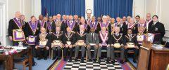 PGM RW Bro David Ashbolt, with a Full Team of Delegates, visits Carnarvon Lodge of Mark Masters No. 7