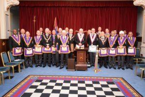 RW Bro David Ashbolt PGM – Full Team Visit to Guild of Freeman Lodge on 11th January 2018