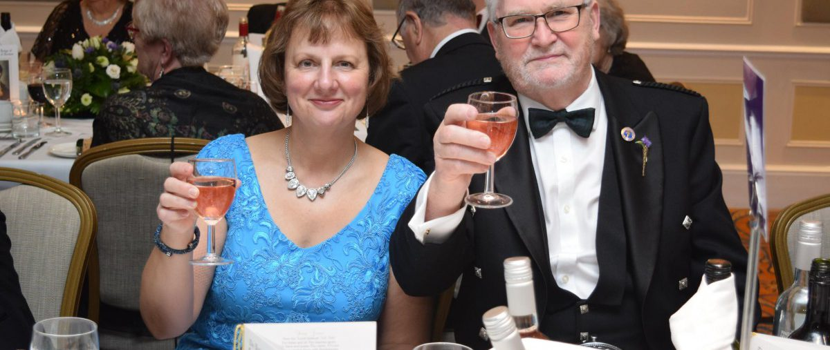 Burns Night Supper at Bournemouth 20th January 2018  - a Sell-Out Success!