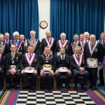 APGM Henry Hobson and his Delegation visit the Public Schools Lodge on 14th February 2018
