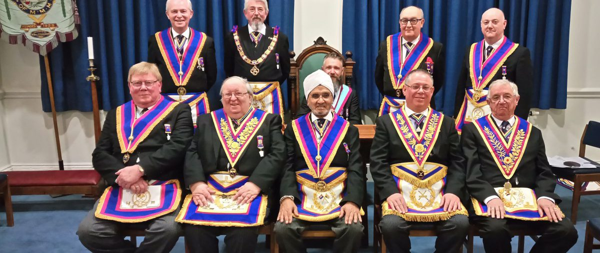 Provincial Grand Secretary Alan White visit to Golden Square Lodge, No. 856, on Wednesday 21 February