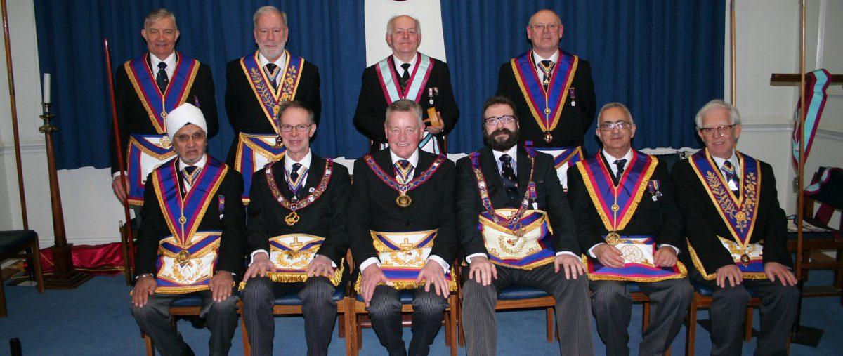 W Bro Henry Hobson, PGJD, APGM visits Carnarvon Lodge No 7 - 15th February 2018