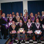 W Bro Clifford Sturt, PGJD, APGM visits Prudence & Verity Lodge N0 932, 19th February 2018