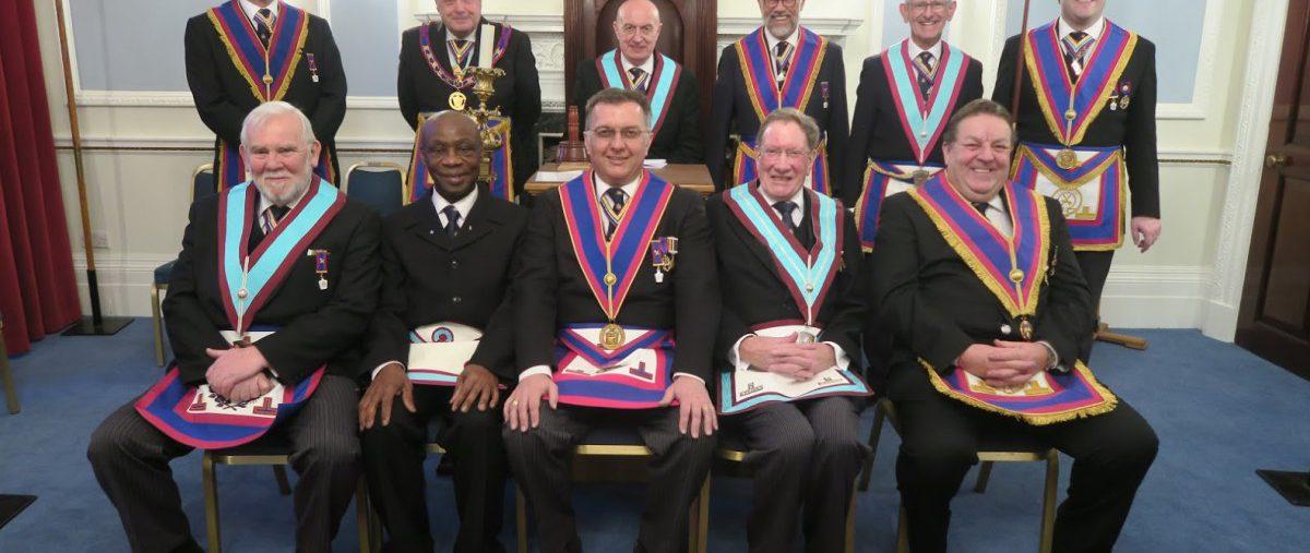 APGM Tim MacAndrews visits Brixton Lodge MMM on 27th February 2018