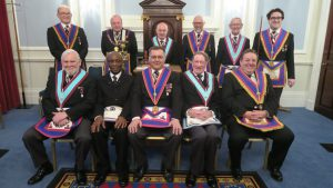 APGM Tim MacAndrews visits Brixton Lodge MMM on 27th February 2018