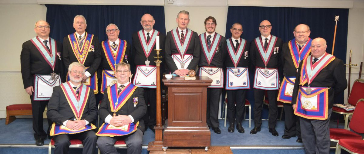 Ethical Lodge. A double Advancement and a surprise visitor at the Festive Board! 5th March 2018